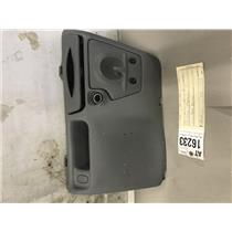 1999-2004 Ford F350 grey lower dash bezel and cup holder at16233