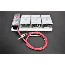 Used: 3x Applied KiloVolts Power Supplies HP005NZZ358 w/Line In/Out Module w/ Warranty