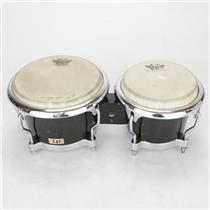 "LP Latin Percussion LP200XF-BK Fiberglass Bongos 7 1/4"" & 8 5/8"" #37989"