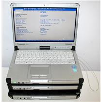 """3x Panasonic ToughBook 12.5"""" CF-C2A Intel Core i5 1.8GHz 4GB 500GB Touch Low Hrs"""