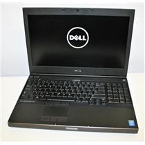 """15.6"""" Dell Precision M4800 Core i7 4th Gen 2.8GHz 8GB NVidia Intel Dual Graphics"""