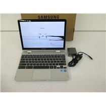 "AS IS - Samsung XE520QAB-K01US 12.2"" 32GB Multi-Touch Chromebook Plus V2 - AS IS"