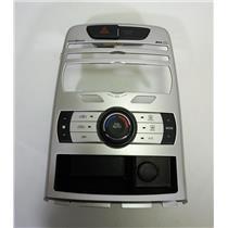 10-12 Hyundai Genesis Coupe Center Dash Radio Bezel Auto Climate Control 12V