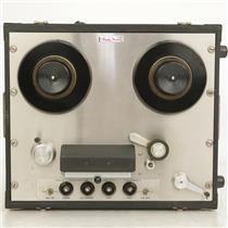 "Ampex 350-2P Portable 2-Track 1/4"" Analog Tape Recorder w/Case No Preamps #38286"