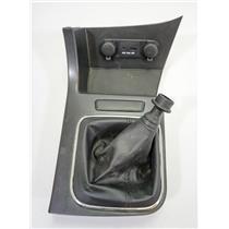 2011-2013 Kia Optima Manual Shift Floor Trim Bezel with Shift Boot AUX USB 12V