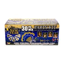 New Years Party 30 Piece Party Kit