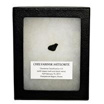 CHELYABINSK METEORITE Chondrite 2013 Russian Fall 1.8 gram w/COA SDB #14820 13o
