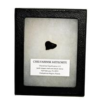 CHELYABINSK METEORITE Chondrite 2013 Russian Fall 2.5 gram w/COA SDB #14821 13o