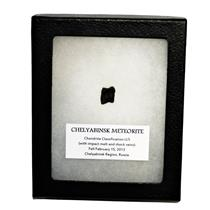 CHELYABINSK METEORITE Chondrite 2013 Russian Fall 1.5 gram w/COA SDB #14823 13o