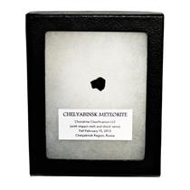 CHELYABINSK METEORITE Chondrite 2013 Russian Fall 1.2 gram w/COA SDB #14826 13o