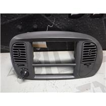 1999 - 2002 FORD F150 LARIAT XLT DASH 4X4 VENTS DARK GREY OEM
