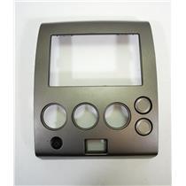 04-06 Nissan Titan Center Radio Manual Climate Bezel for Double Din