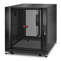 APC NetShelter SX AR3003 12U 600mm Wide x 900mm Deep Server Rack Enclosure with Sides Black