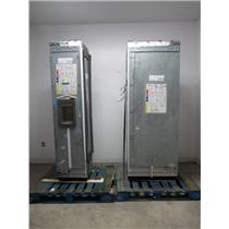 "Thermador Freedom 48"" Built-in Refrigerator Freezer Column T30IR800SP/T18ID800LP"