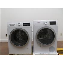 """Bosch 500 Series 24"""" Front Load Washer and Dryer WAT28401UC / WTG86401UC Images (6)"""