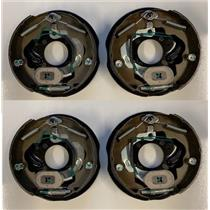 4 pc Electric Trailer Brake assembly Dexter compatible 10 x 2.25 Left and Right