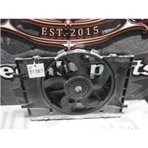2010 - 2012 FORD FUSION 2.5 LITRE COOLING FAN RADIATOR OEM LOW MILEAGE OEM
