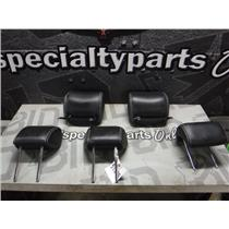 2010 - 2012 FORD FUSION BLACK LEATHER HEAD RESTS SEL OEM SEATS