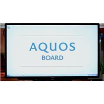 "Sharp PN-L803CA Aquos Board - 80"" LED display - INC"