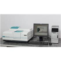 Varian Cary 100 Bio UV-Vis Spectrophotometer & Temp Controller w/ PC & WinUV