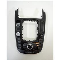 10-12 Audi A4 S4 Q5 Shift Floor Trim Bezel Parking Brake Dash Info Control Unit