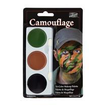 Camouflage Tri Color Palette