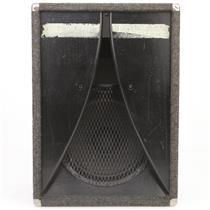 """1970's Bass Cabinet Peavey Black Widow 15"""" Speaker Owned By Leland Sklar #38802"""