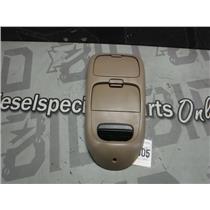 1999 - 2003 FORD F150 LARIAT CREW OVERHEAD CONSOLE ECM READOUT (TAN) OEM