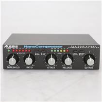 Alesis NanoCompressor RMS Peak Stereo Compressor/Limiter #38938