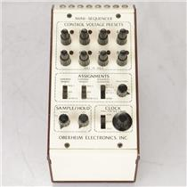 Oberheim Mini-Sequencer CV Control Voltage S/H Clock CPS-2 MSQ-1  #38996