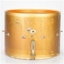 "1940 Ludwig & Ludwig 265 Drummer Parade Drum 16"" x 12"" Enamel Badge Snare #38969"