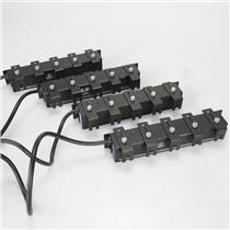 4 Furman PlugLock 5-Outlet 15A Power Strips #38695
