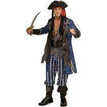 Classic Pirate Captain Adult Mens XL