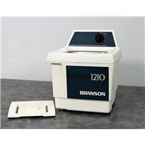 Used: Branson 1210 Ultrasonic Cleaner Bransonic 1210R-MT 1-Gal Tank w/ 90-Day Warranty