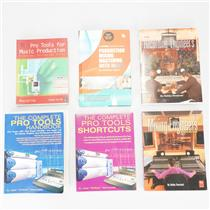 6 Production Mixing Mastering Pro Tools Books Owned by Ed Cherney #39079