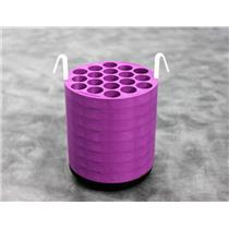Beckman 341939 19x12mL Purple Adapter for JS-4.2 Rotor Bucket w/ 90-Day Warranty