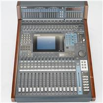 Yamaha DM 1000 Version 2 16 Channel Digital Mixer Console w/ Meter Bridge #38955