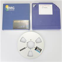"1/4"" RMG International Studio Master 900 Analog Tape Reel & 2 Takeup Reel #39173"