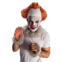 IT the Movie: Pennywise Adult Headpiece with Hair Clown Accessory Kit