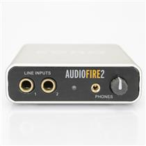 Echo Audiofire 2 24/96 Firewire Recording Interface w/ Extras Cables #39314