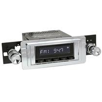 RetroSound Laguna Black Radio 55-57 Thunderbird Aux In