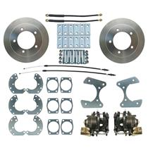 "Ford Truck 9"" w/ E-Brake Rear Disc Brake Kit Conversion Raw Caliper"