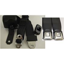Morris Classic 3 Point Front Seat Belt 78-81 Firebird Starburst Button Buckle
