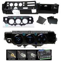 70-72 SS Chevelle Super Sport Dash Conversion Kit Dakota Digital VFD3-70C-CVL-K