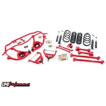 """1964 Chevelle UMI Performance Handling Suspension Package 1"""" Drop -RED Stage 2"""