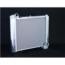 "1961-62 Corvette, CF Manual 2 Row 1"" Tube, Natural Aluminum Radiator"