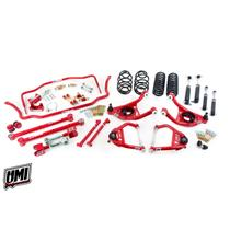 "1964 Chevelle UMI Performance Handling Package 1"" Drop Coilovers Stage 3.5 Red"