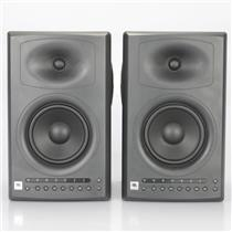 2 JBL LSR4326P Studio Monitors Powered Speakers w/ Box #38978