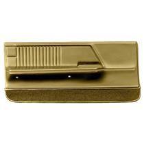OER 1967 Camaro / Firebird Gold Deluxe Molded Front Door Panels K62705