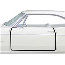 OER 1965-66 Impala, Full Size Door Frame Weatherstrip, 2 Door Hardtop, Convertible K452